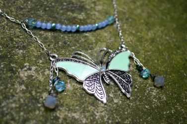 A Delicate Soul - Psyche's Butterfly Chain