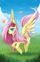 Fluttershy by Mousu