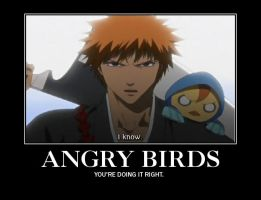 Bleach Demotivational Poster by deathbymortgage