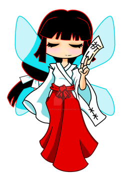 Costume Fairy Adventures - Miko by BUtifulDeath