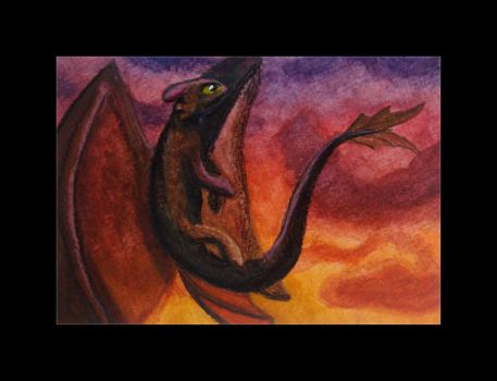 Toothless by smangirl