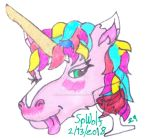 Badges: Tipsy Unicorn (M for Drinking) by SpellboundFox