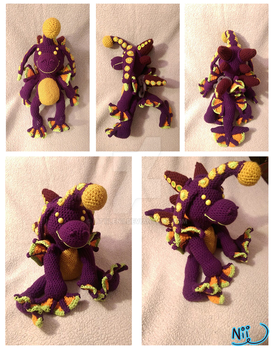 Eon Plush Commission by LittleNii