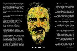 Alan Watts by DeadNettlez