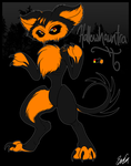 Decapiture OC - Hallowhauntra by SavannaEGoth