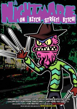 Scary Terry in Nightmare On Bitch Street! Bitch! by CreedStonegate