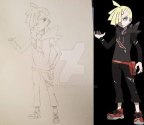Gladion - Pokemon by YuKey0