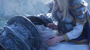 Arthas and Jaina - Last goodbye by Narga-Lifestream
