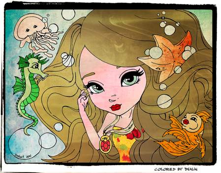 Mermaid Color by 23Dvalin
