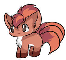 Vulpix by Myumimon
