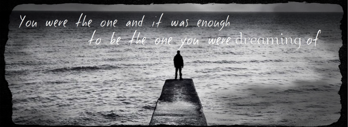 You were the one and we called it love... by EvilPeopleWereHere