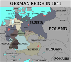 Shoulders of a Giant: Germany 1941 by ThePrussianRussian