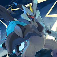 Commission - Black Kyurem by nganlamsong