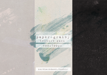 paper and grainy II texture pack by northerndawn