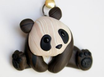 Faux Wood Panda II by FauxHead