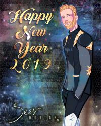 HAPPY NEW YEAR 2019! with Chris Evans by Im-Seer