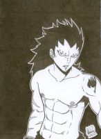 Gajeel X3 by EED-Wolf