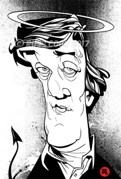 Stephen Fry by RussCook