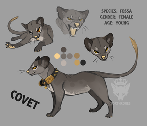 SONA: Covet Reference by foxthrones