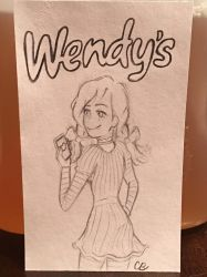 savage Wendy's by BrilliantBrun3tt3