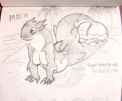 Molin on land Sketch by Vipery-07art