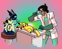 For SCIENCE by otakugal15