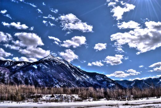 Pine Pass HDR by pachocanadian