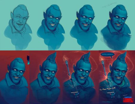 Yondu Udonta progress by Boris-Dyatlov