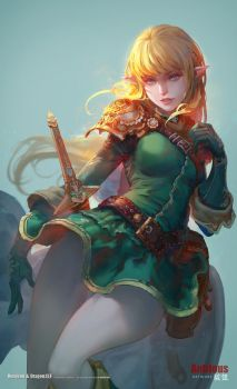 Dungeons and Dragons Elf by antilous