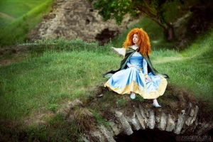 Merida, legend of the highlands by shua-cosplay