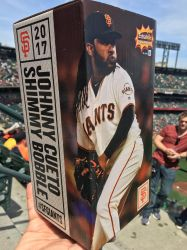 Johnny Cueto: Shimmy Bobble box cover!!!!! by sfgiants58