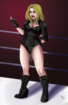 Black Canary by lauroboto