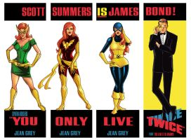 Jean Grey Only Lives Twice by Theamat