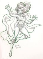 POLARIS Commission sketch by LucianoVecchio