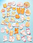 Sticker Flakes by Mellymiew