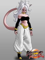 Dragon Ball FighterZ Android 21 (True Form) DL by KSE25