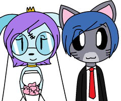 R: Gendit and Gina's wedding by Mushy-Sugar-Chan