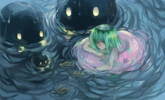 Kappa in the Water by GeroChan