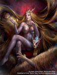 Fairy Tale: Hair Cocoon by Wolfie-chama