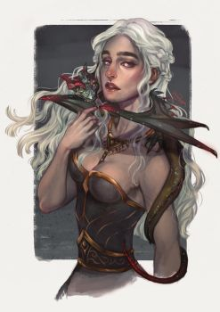 DAENERYS | MOTHER OF DRAGONS by alexzappa