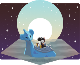 [gift] Lapras and Yoshi Star Cruise by Chari-Artist