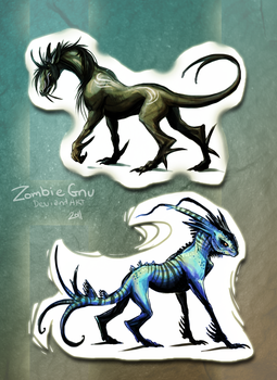 Some.Creatures by ZombieGnu