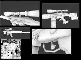 PSG-1 sniper rifle AO map by DennisH2010