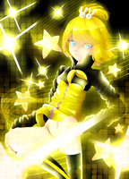 Kagamine Rin Energic Style by MRinkuChan
