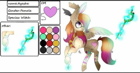 Ayashe's REF by M0chiPancake15