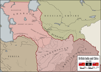 British Protectorate of Chiva by kreiviskai