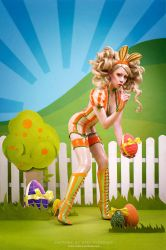 The secret of Easter by Ophelia-Overdose
