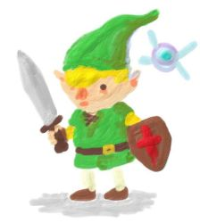 Painty Link by super-rick