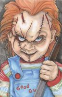 Child's Play Chucky by ChrisOzFulton