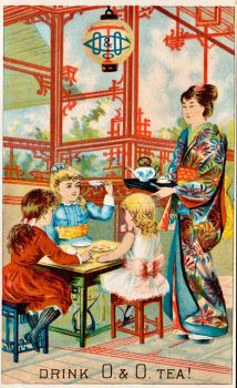Victorian Advertising - Tea From The Orient by Yesterdays-Paper